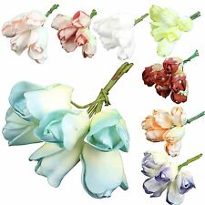 8x Bunches of Assorted Foam Tulips! Artificial Flowers Set Fake
