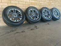 Mitsubishi Triton Genuine 18 inch wheels and Dunlop Tyres Near New Set of 4