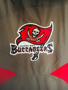 NEW Tampa Bay Buccaneers Reebok OnField XL Heavy-Duty Coat Jacket Embroidered HQ