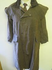 """Barbour A1554 Stockman Waxed Coat Jacket - S 36-38"""" Euro 46-48 in brown"""