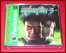 Syphon Filter 3 for the Sony Playstation 1 PS1 System NEW SEALED