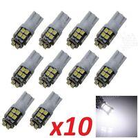 Bombillas T10 LED, 20smd, 5W5 5050, DC12V, posicion, matricula, blanco frio.
