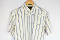 Gant Pinpoint Oxford Men Casual Shirt Short Sleeves Regular Fit size M