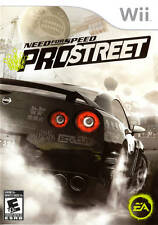 Need For Speed ProStreet Wii Great Condition Complete Fast Shipping