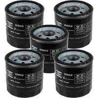 5x MAHLE / KNECHT Ölfilter OC 21 Oil Filter