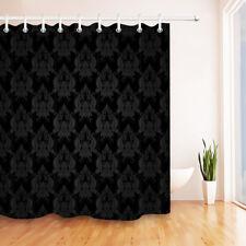 "72X72"" Damascus Baroque Gothic Fabric Shower Curtain Liner Bathroom Accessories"