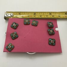 More details for antique enamalled buttons