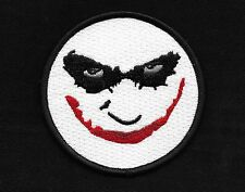 WHY SO SERIOUS? ROCKABILLY HOT ROD PUNK MOTORCYCLE JACKET VEST BIKER PATCH 3""
