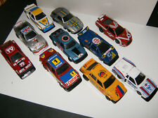 RARE LOT DE 10 Voitures POLISTIL RALLYE au 1/40 NO 1/43 MADE IN ITALY