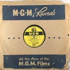 "CARLOS THOMPSON - No One But You / Peddler Man 78rpm 10"" Shellac Record (7161)"
