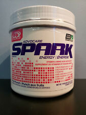 Advocare Spark Energy - Fruit Punch 10.5 oz Canister Jar - New! 42 Servings