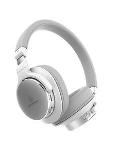 Audio-Technica ATH-SR5BT Bluetooth Wireless High-Resolution Headphones (White)