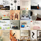 DIY Removable Vinyl Home Room Decor Art Quote Wall Decal Stickers Bedroom Mural