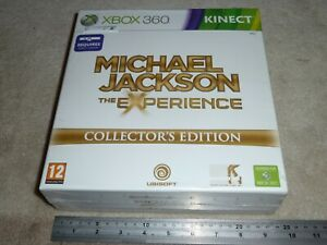 MICHAEL JACKSON EXPERIENCE COLLECTOR EDITION - XBOX 360 NEW & SEALED Mic T-Shirt
