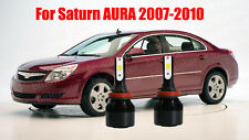 LED For Saturn AURA 2007-2010 Headlight Kit H11 White CREE Bulbs Low Beam