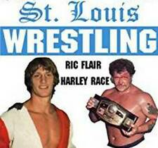 12 Pro Wrestling Dvds: St. Louis Wrestling from the 80's!