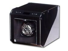 """Uhrenbeweger """"Ferrum Cube""""   1 Uhr Schwarz Aluminiumgehäuse Watch Winder"""