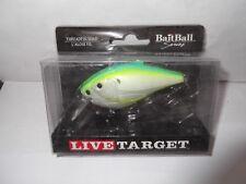 Live Target Threadfin Shad Crankbait BAIT BALL SQUARE BILL CRANKBAIT
