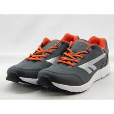 Hi-Tec Pajo Men's Charcoal/Orange Training Sneakers 10M
