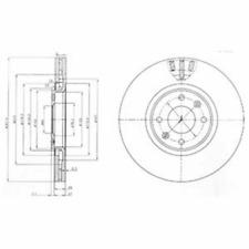 Bremsscheibe (2 Stück) - Delphi BG4002