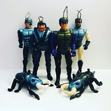 Sectaurs Coleco Vintage Loose Action Figure Lot.