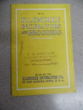 1922 Klondike Incubator Brooder Poultry Equipment Catalog Des Moines IA Vintage