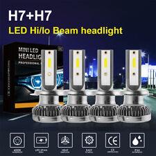 Kit de 4 H7 Ampoule LED COB CSP 40000LM Phare de Voiture 400W 6000K Blanc LD1770