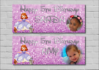 Childs Birthday Party Banner Decoration Sofia the 1st Princess