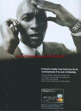 Morgan Stanley 2001 Magazine Advert #2303