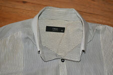Mens Casual Shirt - Size XL - By Next - Blue Black White Grey
