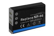 Batería NP-95 NP95 para Fuji Fujifilm Finepix F30, F30fd, F31, F31fd