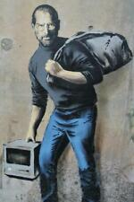 Banksy Steve Jobs Refugee Art Print inch Poster 24x36 inch