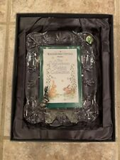 Waterford Crystal Velveteen Rabbit Collectible Frame