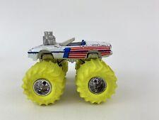 Vtg Matchbox Super Chargers Chevy Corvette Monster Truck Ultra Rare Yellow Tires