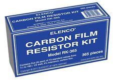 ELENCO RK-365  1/2 WATT 365 PIECE RESISTOR KIT