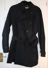 BURBERRY Men's Black Trench Coat Taille 50 Occasion