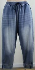 Fabulous CITY CHIC Near New 'CCX' Pull on Harem Style Jeans - Size M (18)
