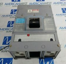 JXD62B300 Siemens 2 Pole 300A 600V Breaker with S01JLD6 120V Shunt Trip TESTED