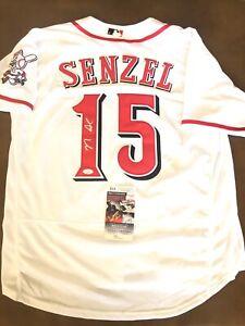 Nick Senzel Signed Autographed Cincinnati Reds Jersey