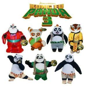 Soft Toy 25cm Choose Character For Kung Fu Panda 3 Original New Po Bao Etc
