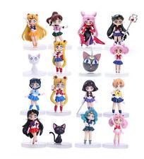Sailor Moon Anniversary Japan Anime Figurine Jouet Collection Lot of 16pcs FR