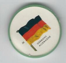 1963 General Mills Flags of the World Premium Coins #58 Germany