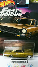 Hot Wheels Fast & Furious Motor City Muscle '66 Chevy Nova  (NG54)