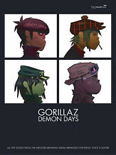 Demon Days Gorillaz Pop Piano Voice Guitar Learn to Play SONGS FABER Music BOOK