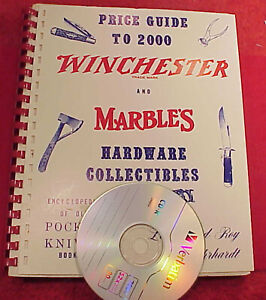 ROY EHRHARDT  CD PDF WINCHESTER MARBLE'S POCKET KNIFE PRICE GUIDE 128PAGE BOOK 3