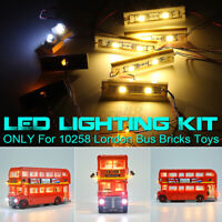 USB LED Light Kit ONLY For LEGO 10258 London Bus Building Block Bricks Toys