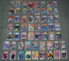 Vintage USA Star Wars Comics 59-107 +9.MINI DISPLAY CARDS.U.S COVERS,MARVEL,SET2