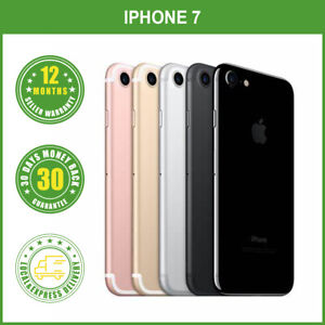 Apple iPhone 7 32/128/256GB 4G LTE Multi Colours Factory Unlocked FREE EXPRESS