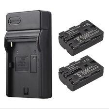 2x 1800mAh NP-FM500H Akkus + Ladegerät For Sony A58 A65 A77 A99 A550 A560 A580