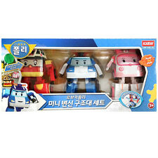 (NEW Arrival) Robocar Poli mini transformer rescue set toy (standard & sweety)